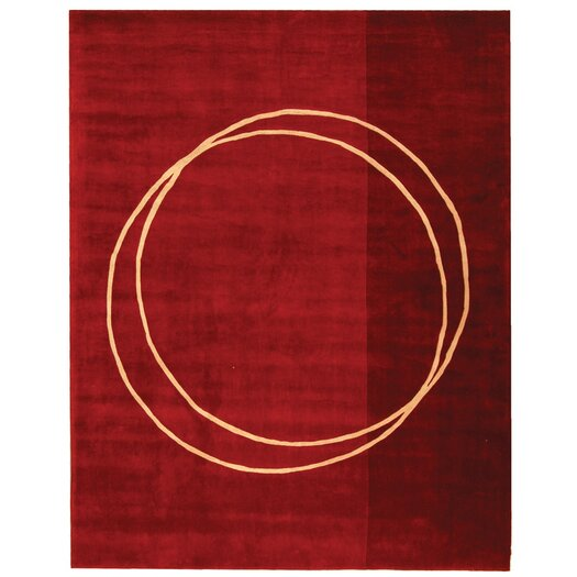 Safavieh Rodeo Drive Red Circle of Life Area Rug