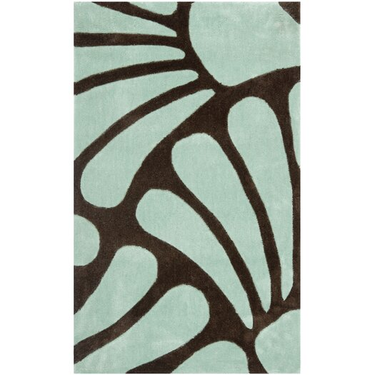 Safavieh Modern Art Brown/Blue Rug