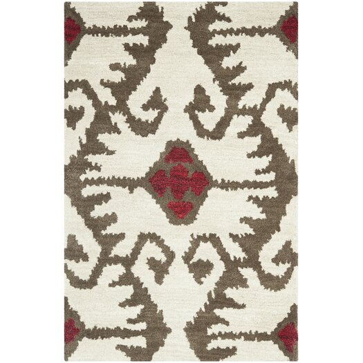 Safavieh Wyndham Ivory Brown Area Rug