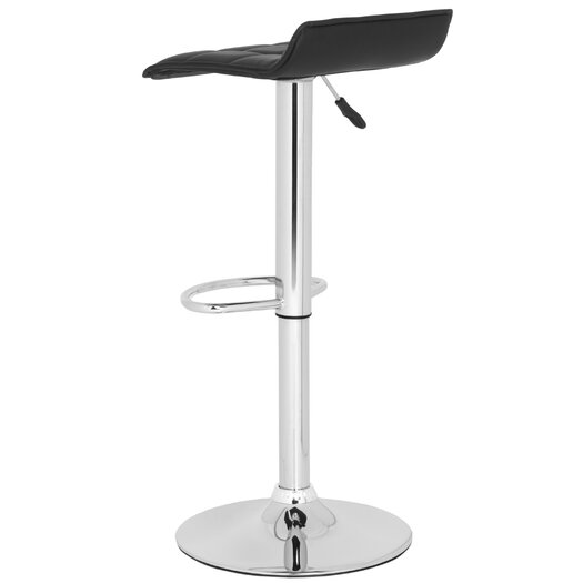Safavieh Lamita Adjustable Height Swivel Bar Stool with Cushion