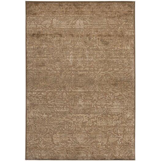 Safavieh Martha Stewart Heritage Bloom Soft Anthracite/Camel Area Rug