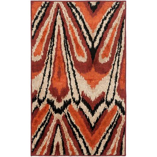 Safavieh Kashmir Orange / Multi Rug