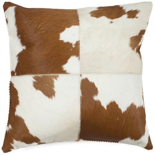 Safavieh Carley Cowhide Throw Pillow