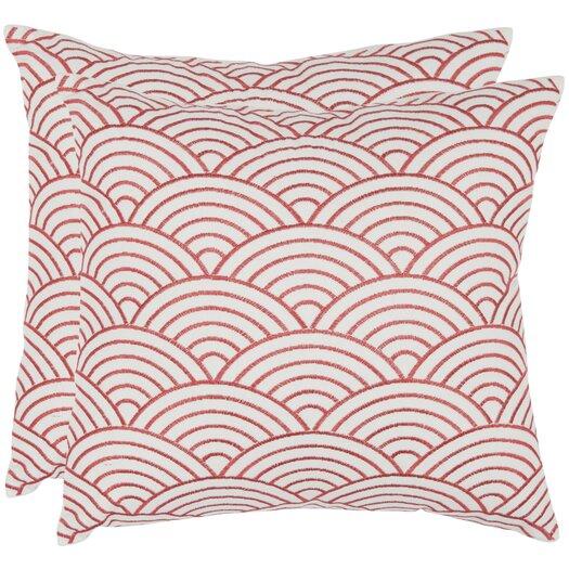 Safavieh Dina Scallop Cotton Throw Pillow