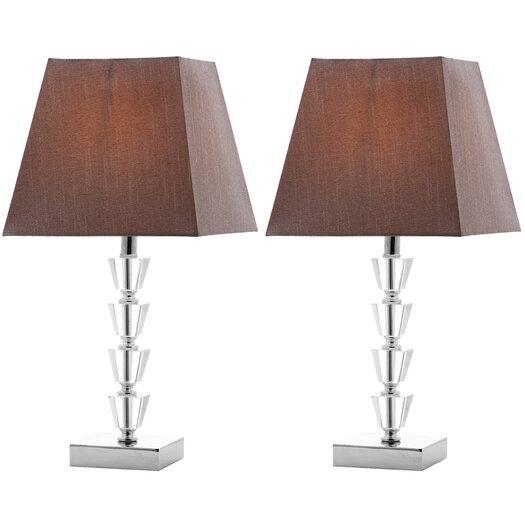 "Safavieh Avalon Deco 17.25""H Table Lamp with Empire Shade"