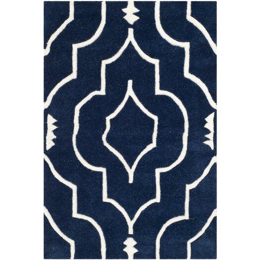 Safavieh Chatham Dark Blue & Ivory Area Rug