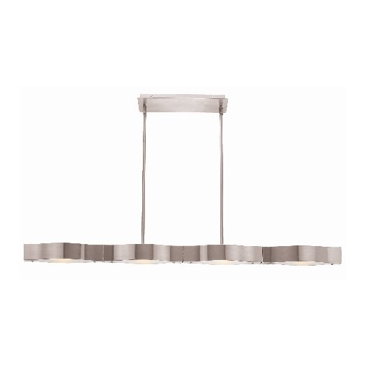 Access Lighting Titanium 4 Light Convertible Pendant