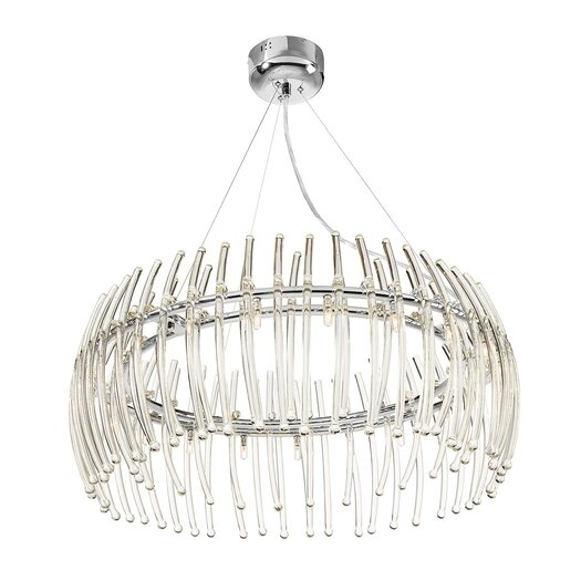 Access Lighting Perseus 21 Light Crystal Chandelier in Chrome