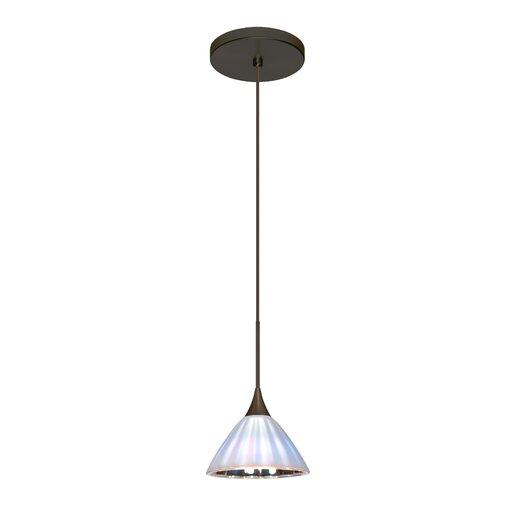 Besa Lighting Domi 1 LED Integrated Bulb Mini Pendant