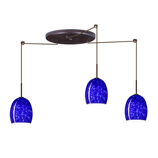 Besa Lighting Lucia 3 Light Pendant