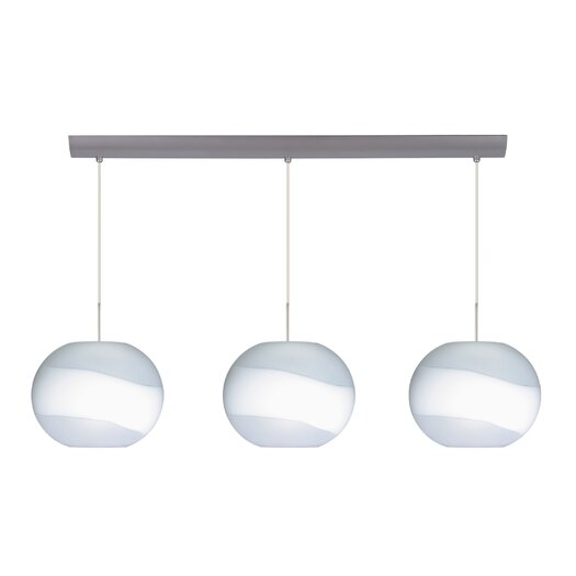 Besa Lighting Luna 3 Light Pendant