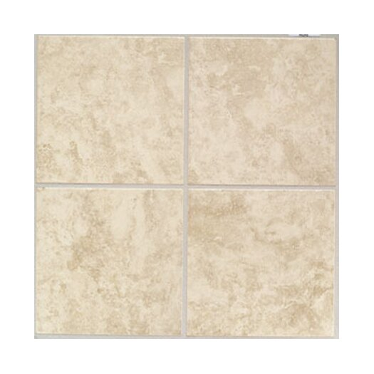 "Mohawk Flooring Ristano 6"" x 6"" Ceramic Field Tile in Crema"
