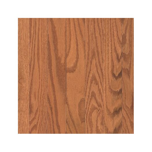 "Mohawk Flooring Bella Rosa 2-1/4"" Solid Oak Hardwood Flooring in Butterscotch"
