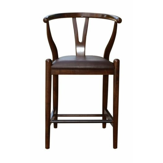 Boraam Wishbone 24 Quot Bar Stool With Cushion Allmodern