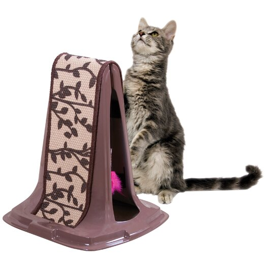 Petmate Lean On Me Plastic Scratching Post