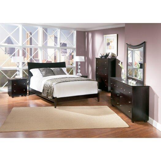 Atlantic Furniture Milano Sleigh Bed