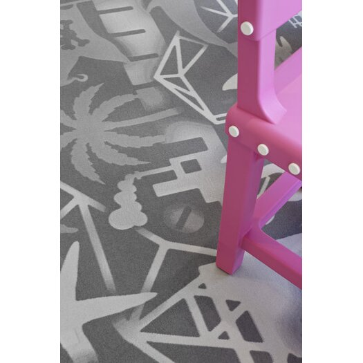 Carpet Firmship White/Grey Area Rug