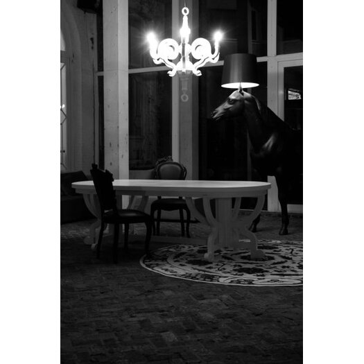"Moooi Horse 94.5"" Floor Lamp with Empire Shade"