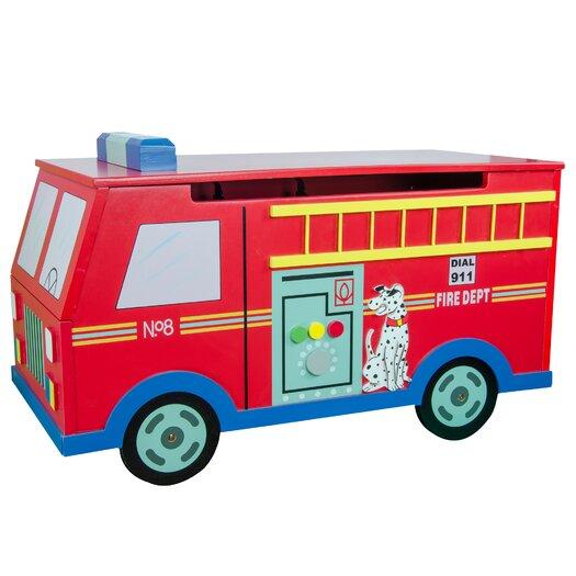 Teamson Kids Wings & Wheels Toy Box
