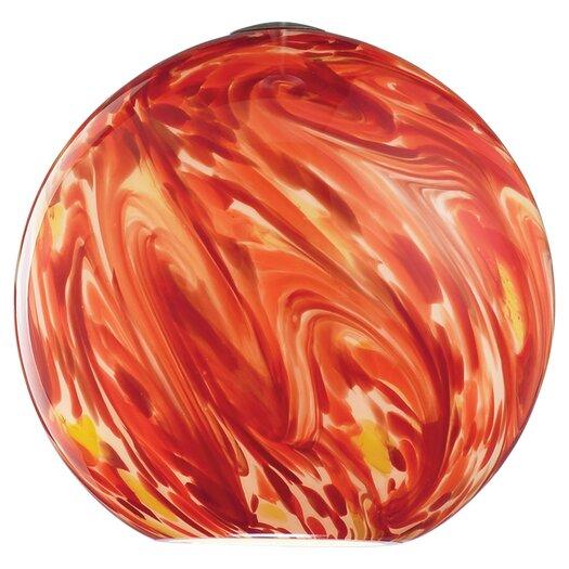 "Sea Gull Lighting 7.69"" Ambiance Transitions Glass Round Pendant Shade"