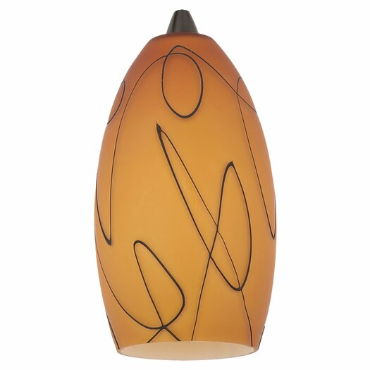 "Sea Gull Lighting 4.5"" Glass Bell Pendant Shade"