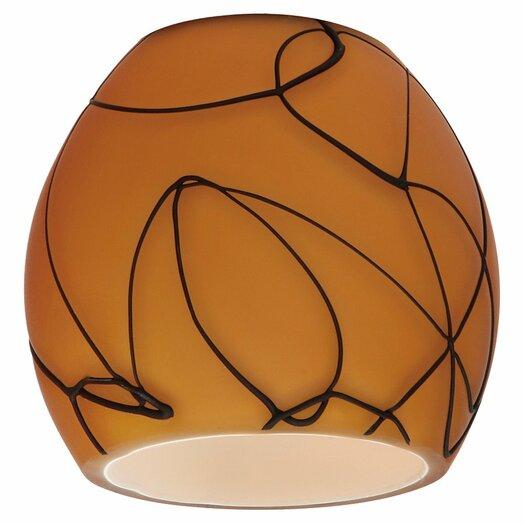 "Sea Gull Lighting 2.88"" Ambiance Transitions Glass Bowl Pendant Shade"