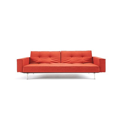 Innovation USA Split Back Convertible Sofa with Arms