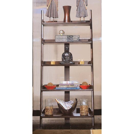 "American Drew Tribecca 76"" Leaning Bookcase"