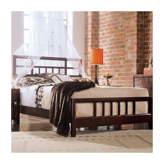 American Drew Tribecca Slat Bed