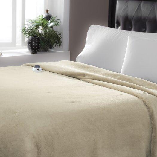 Serta Serta Luxe Plush Micro Fleece Electric Blanket