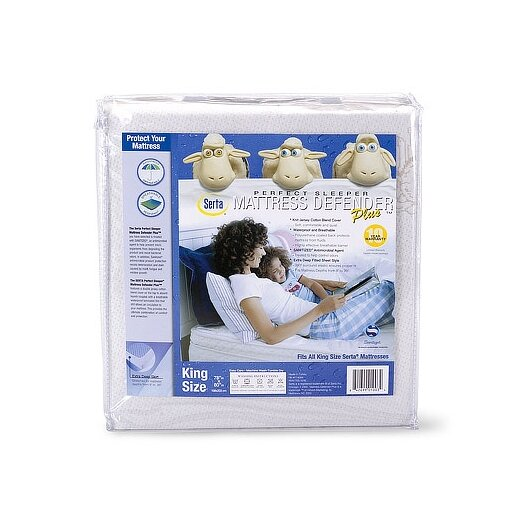 Serta Serta Perfect Sleeper Mattress Defender Plus Waterproof Mattress Cover