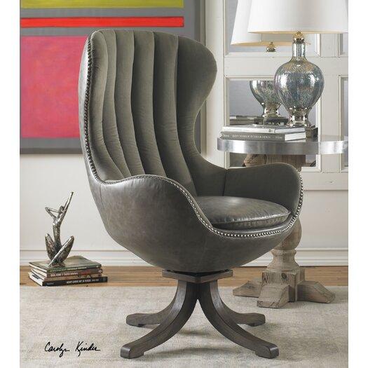 Uttermost Linford Swivel Arm Chair