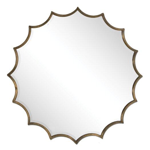 Uttermost San Mariano Starburst Wall Mirror
