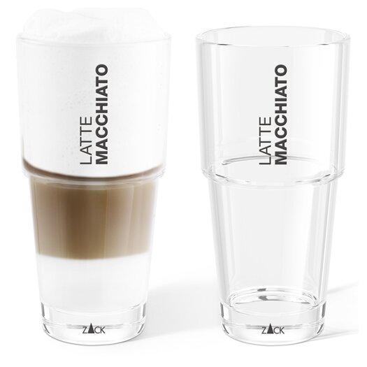 ZACK Ceto Latte Macchiato Glass