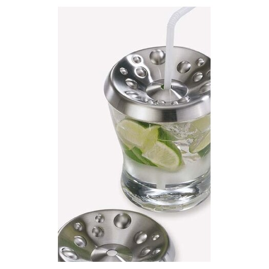 ZACK Cappa Drinking Glass Cover (Set of 2)
