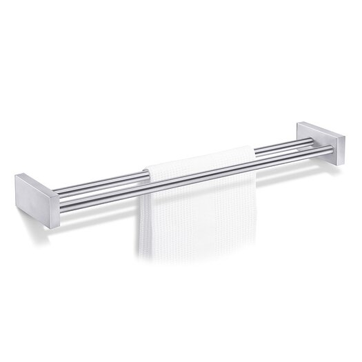 ZACK Bathroom Accessories Wall Mounted Double Towel Bar