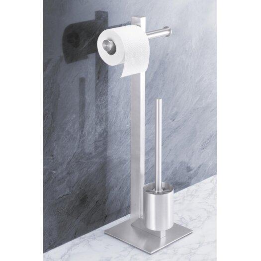 ZACK Bathroom Accessories Freestanding Fresco Toilet Butler