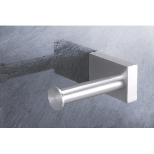 ZACK Bathroom Accessories Wall Mounted Fresco Toilet Roll Holder