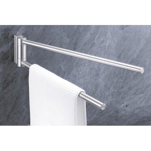 "ZACK Bathroom Accessories 18"" Wall Mounted  Towel Bar"