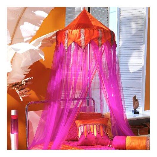 Bacati Tangerine Bed Canopy