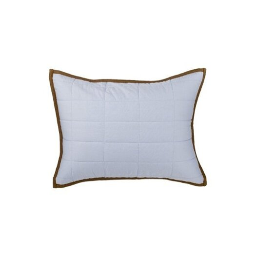 Bacati Metro Quilted Cotton Boudoir/Breakfast Pillow