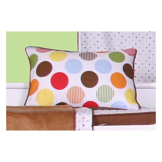 Bacati Baby and Me Decorative Cotton Boudoir/Breakfast Pillow