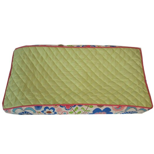 Bacati Botanical Sanctuary Changing Pad Cover