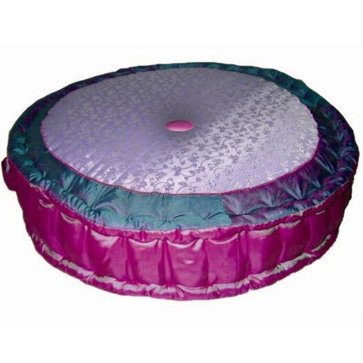 Bacati Jaipuri Cotton Floor Pillow