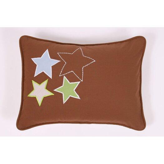 Bacati Camo Air Decorative Cotton Boudoir/Breakfast Pillow