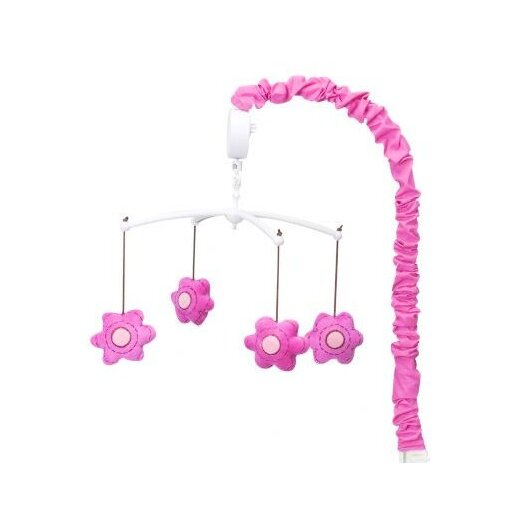 Bacati Damask Flowers Mobile