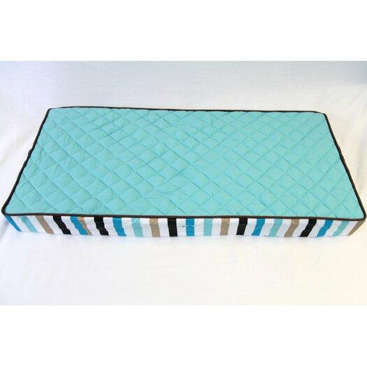 Bacati Mod Diamonds/Stripes Dots Changing Pad Cover