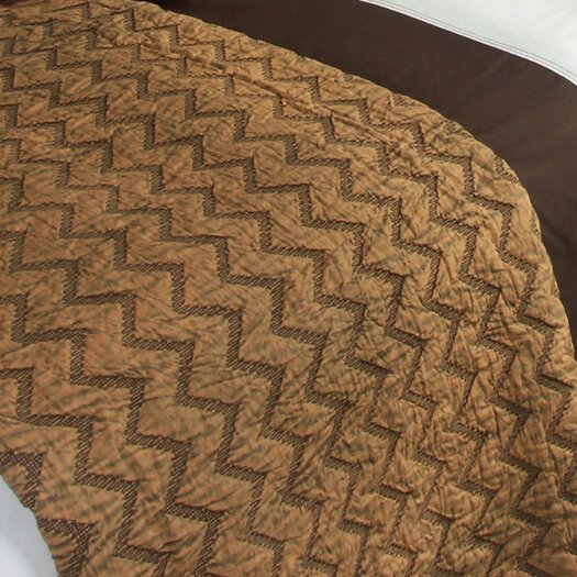 Bacati Eclectic Enzyme Wash Quilt