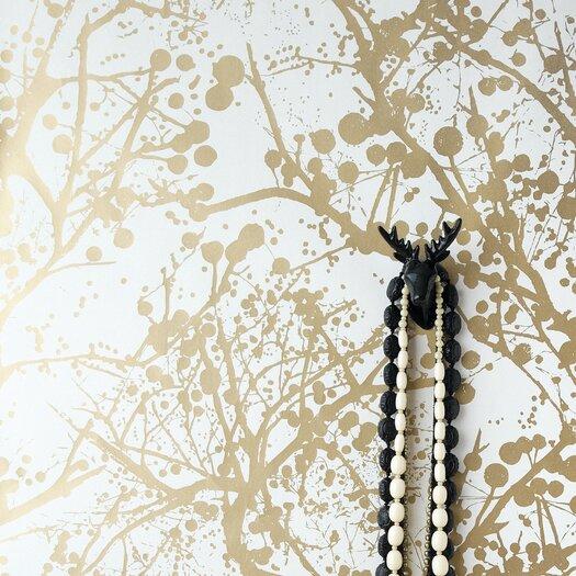 ferm living wilderness wallsmart 33 39 x 21 abstract. Black Bedroom Furniture Sets. Home Design Ideas