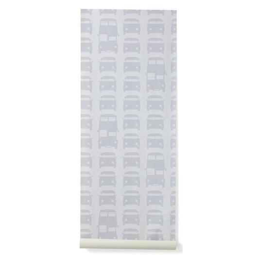 "ferm LIVING Rush Hour 32.97' x 20.87"" Wallpaper"